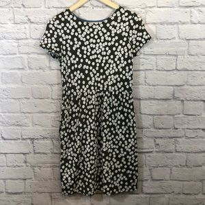 Boden | Dress Size 4 PETITE US Green Floral